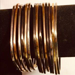 14 square bracelets